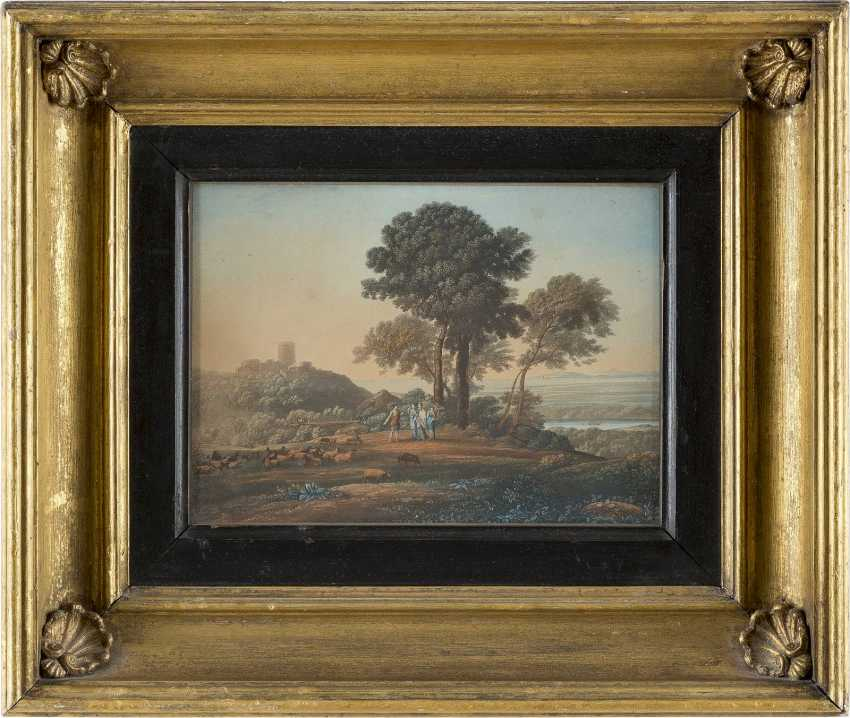 UNBEKANNTER GRAFIKER Tätig im 19. Jahrhundert - photo 2