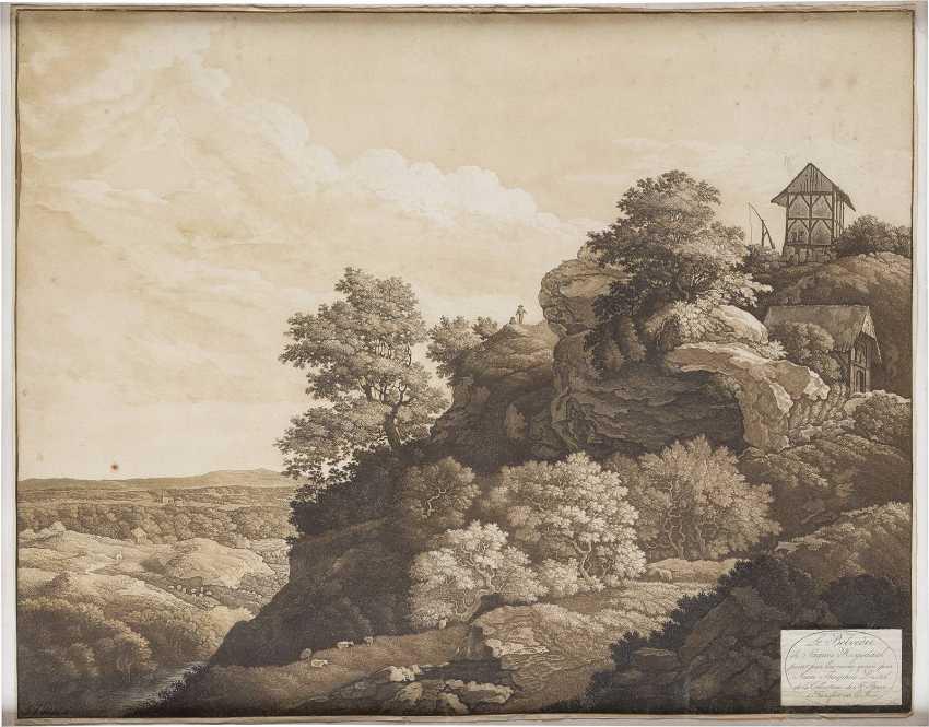 JOHANN THEOPHILUS PRESTEL 1739 Grönenbach - 1808 Frankfurt a.M. - photo 1