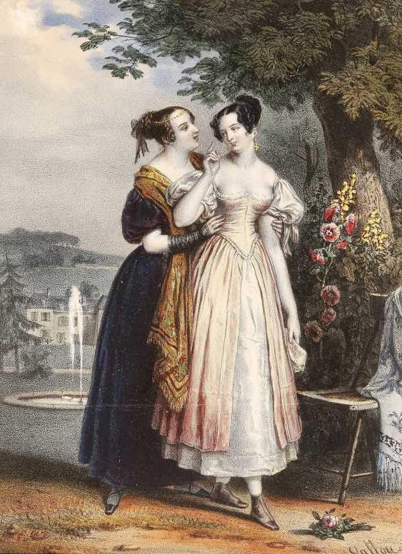 JULIEN VAOLLOU DE VILLENEUVE 1795 Boissy-Saint-Léger - 1866 Paris 6 BLATT - photo 1