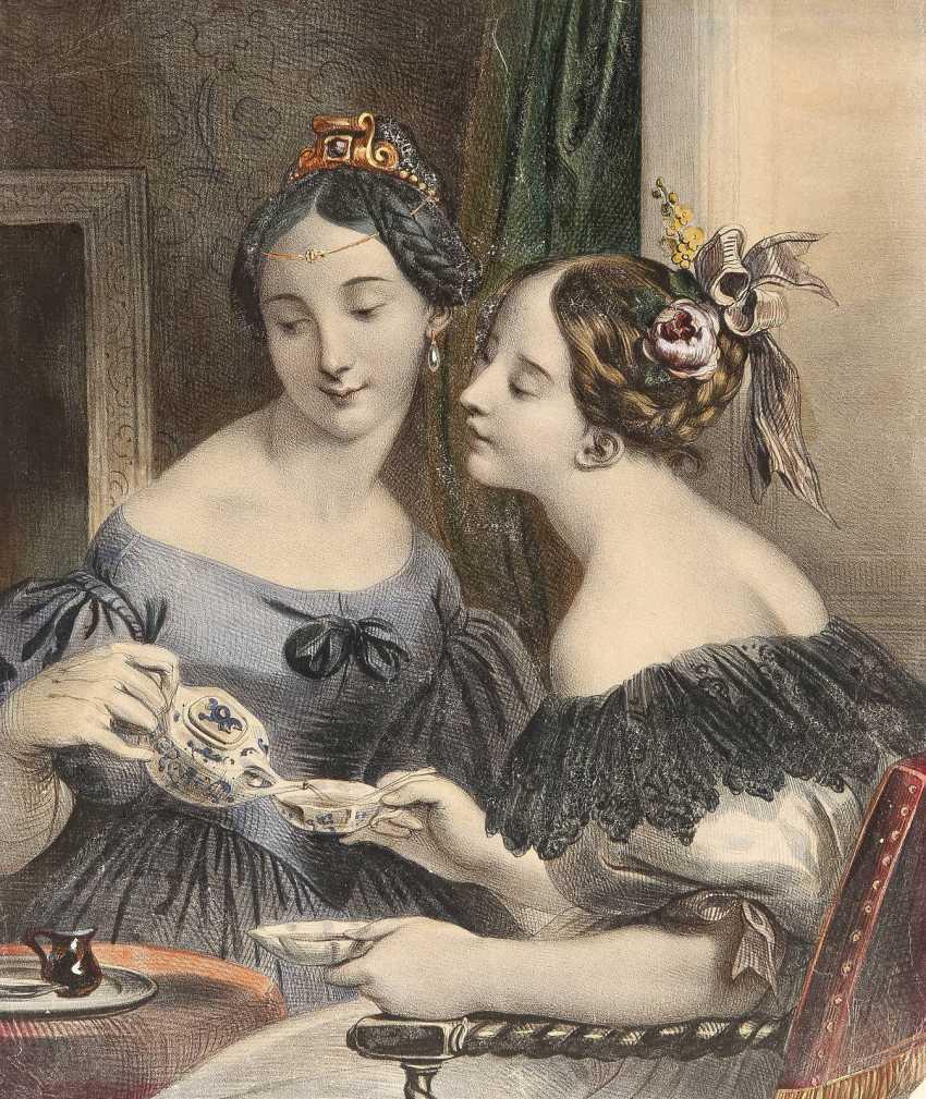 JULIEN VAOLLOU DE VILLENEUVE 1795 Boissy-Saint-Léger - 1866 Paris 6 BLATT - photo 2
