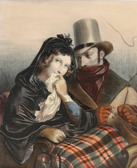 JULIEN VAOLLOU DE VILLENEUVE 1795 Boissy-Saint-Léger - 1866 Paris 6 BLATT - photo 3