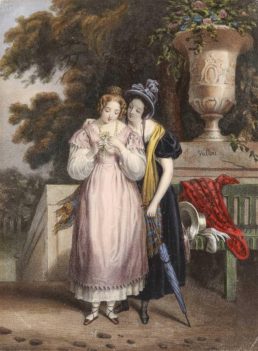 JULIEN VAOLLOU DE VILLENEUVE 1795 Boissy-Saint-Léger - 1866 Paris 6 BLATT - photo 4