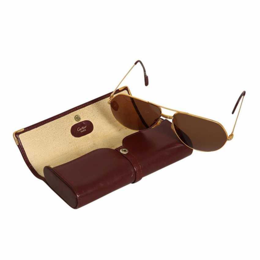 Cartier Aviator sunglasses. - photo 2