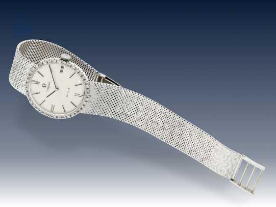 Armbanduhr: seltene vintage Herrenuhr mit hochwertigem Diamantbesatz, Omega De Ville, 70er Jahre - photo 3