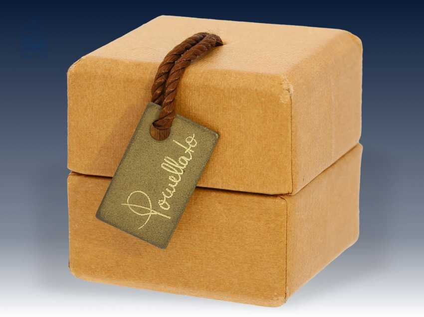 """Ohrringe: elegante und hochwertige Citrin-Ohrringe, Markenschmuck von Pomellato """"Nudo"""", 18K Gold, NP 3800€, mit Originalbox - photo 2"""