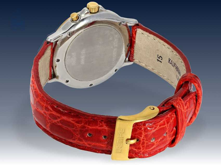 "Armbanduhr: edler Damenchronograph, Chopard ""Mille Miglia Diamonds"" Ref.8163 mit Box & Papieren, 90er Jahre - photo 3"