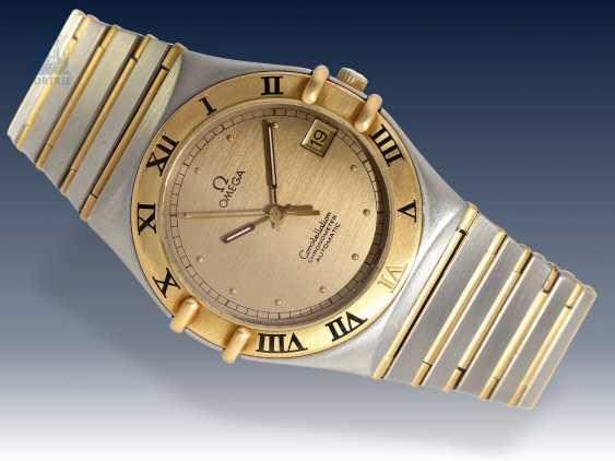 Armbanduhr: hochwertige Herrenuhr, Omega Constellation Automatikchronometer in Stahl/18K Gold - photo 1