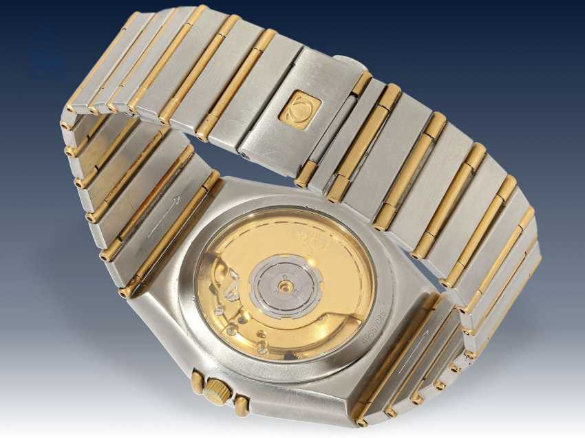 Armbanduhr: hochwertige Herrenuhr, Omega Constellation Automatikchronometer in Stahl/18K Gold - photo 2