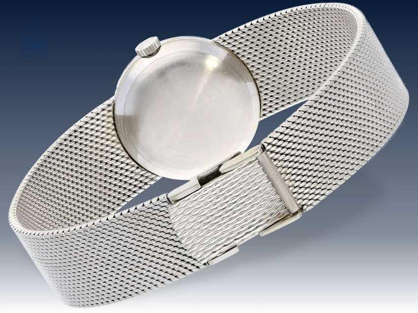 Armbanduhr: weißgoldene vintage Damenuhr von Chopard mit Diamantlünette, wenig getragen,18K Gold - photo 2