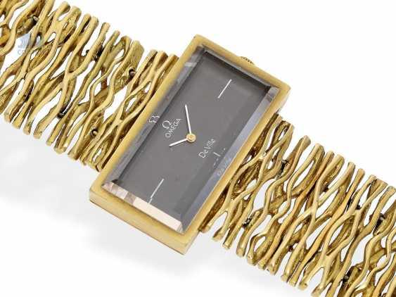 Armbanduhr: extrem seltene Designeruhr von Omega, Ref. 8270, 70er Jahre - photo 2