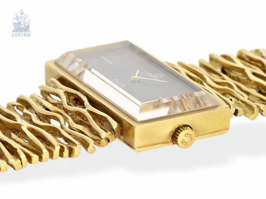 Armbanduhr: extrem seltene Designeruhr von Omega, Ref. 8270, 70er Jahre - photo 4