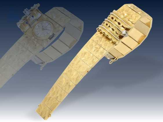Armbanduhr: ausgefallene und sehr hochwertig gearbeitete vintage Cocktailuhr von Omega, ca.1960/65 - photo 1