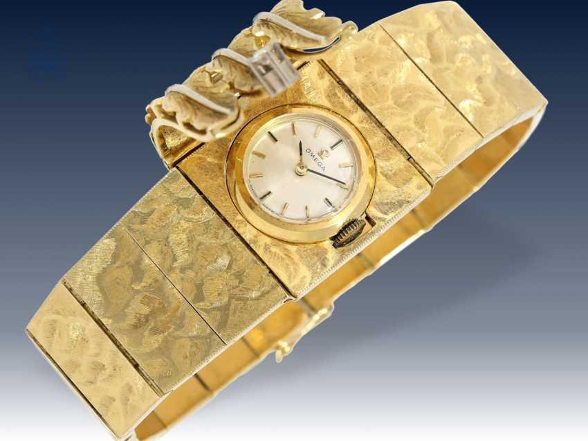 Armbanduhr: ausgefallene und sehr hochwertig gearbeitete vintage Cocktailuhr von Omega, ca.1960/65 - photo 3