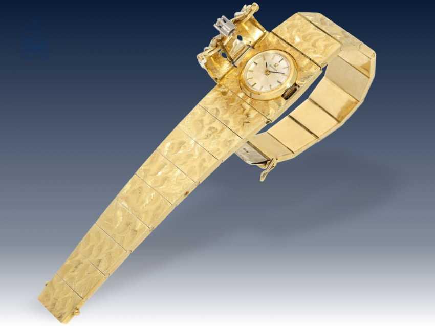 Armbanduhr: ausgefallene und sehr hochwertig gearbeitete vintage Cocktailuhr von Omega, ca.1960/65 - photo 4