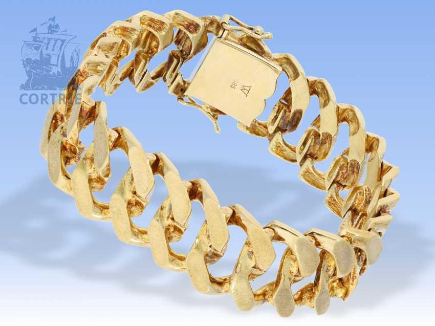 Armband: sehr schweres vintage Goldschmiedearmband - photo 1