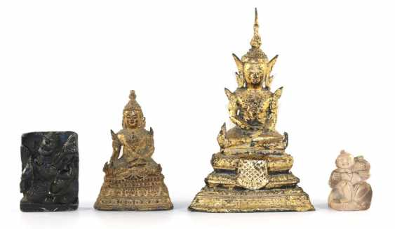 2 Buddhafiguren - photo 1