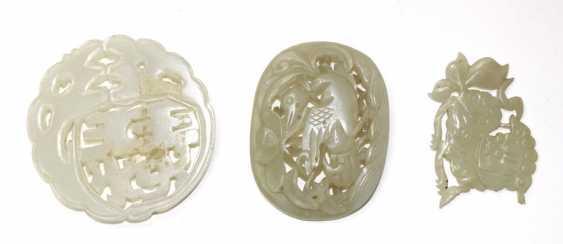 Jadeanhänger, Ring - photo 2