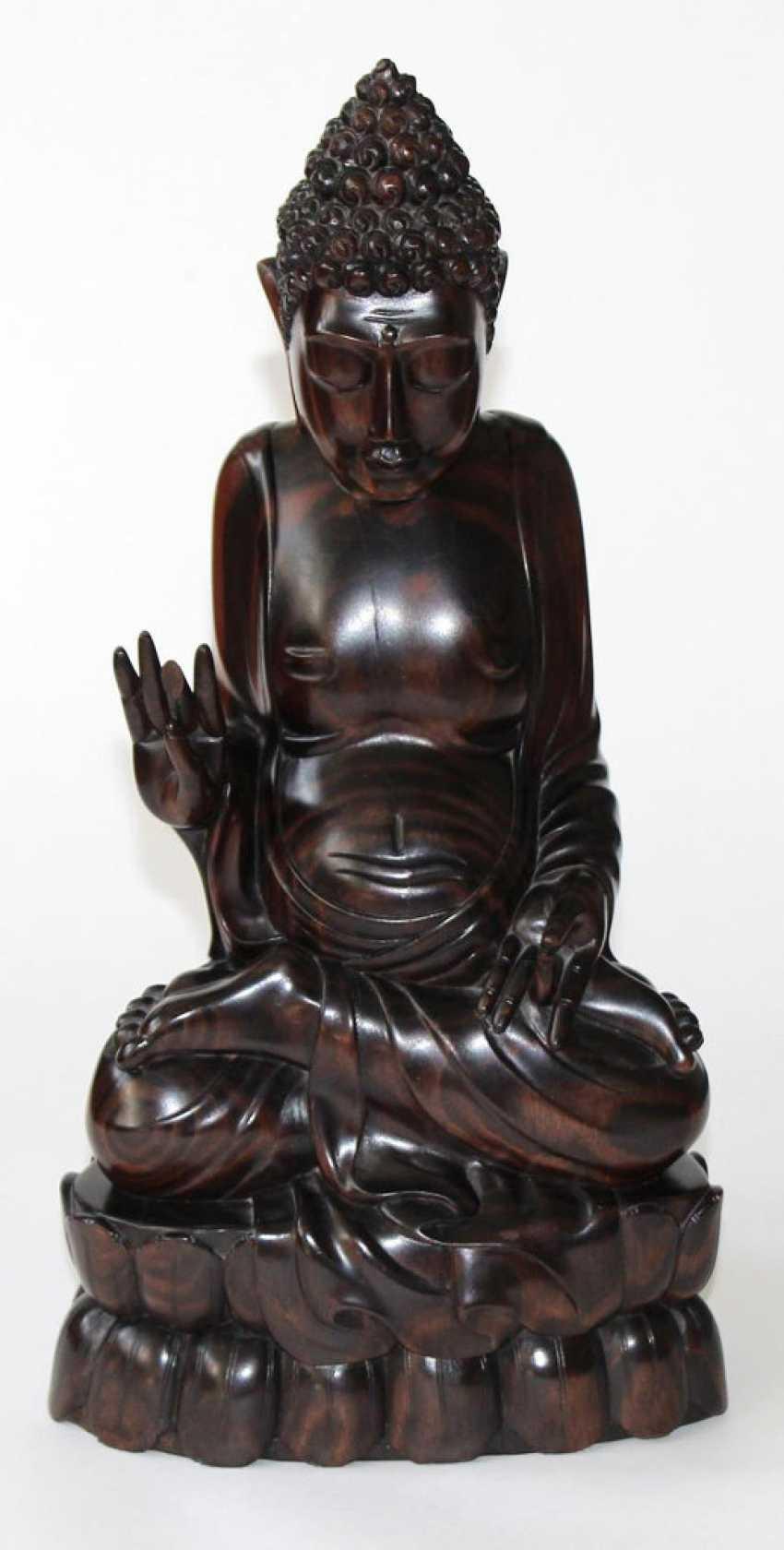 Buddha, Edelholz - photo 1