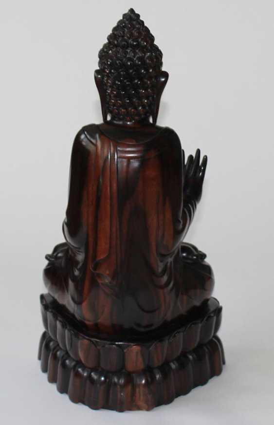 Buddha, Edelholz - photo 3