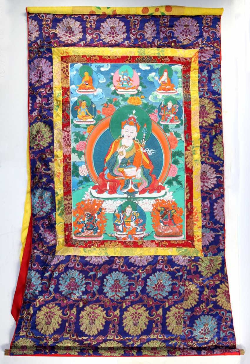 Padmasambhava Thangka - photo 1