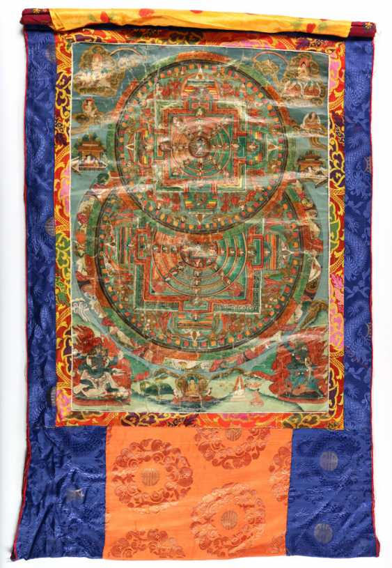 Thangka with 2nd mandalas - photo 1