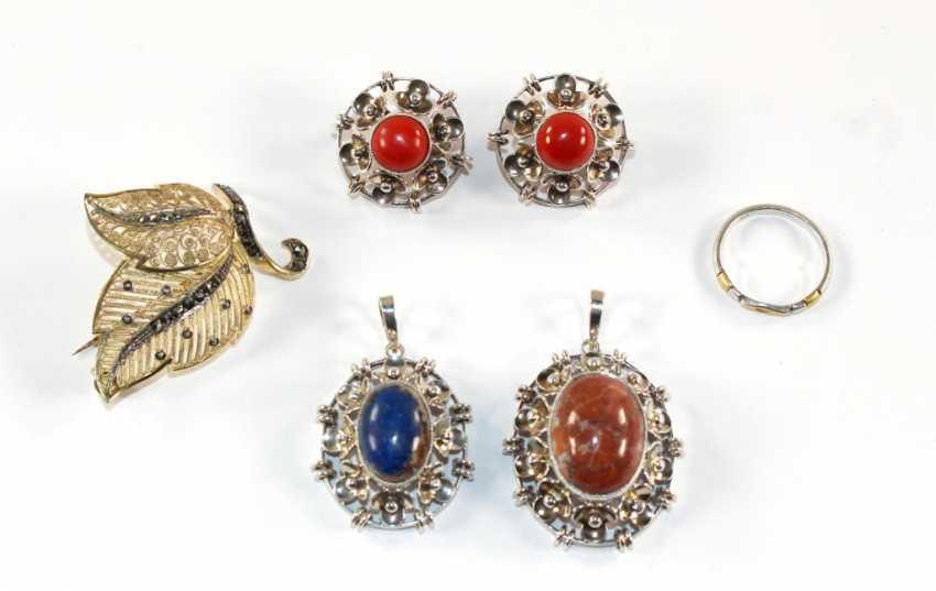 Bijoux Art Déco en argent - photo 1