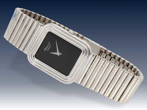 Armbanduhr: sehr seltene, weißgoldene vintage Chopard Ref.2036, 70er Jahre - photo 1