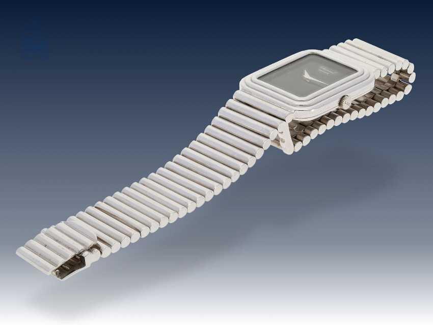 Armbanduhr: sehr seltene, weißgoldene vintage Chopard Ref.2036, 70er Jahre - photo 2