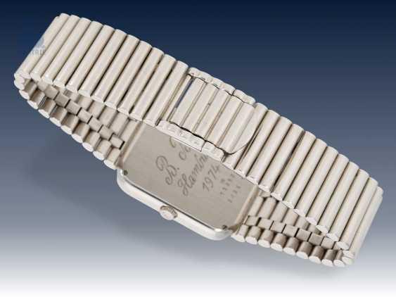 Armbanduhr: sehr seltene, weißgoldene vintage Chopard Ref.2036, 70er Jahre - photo 3