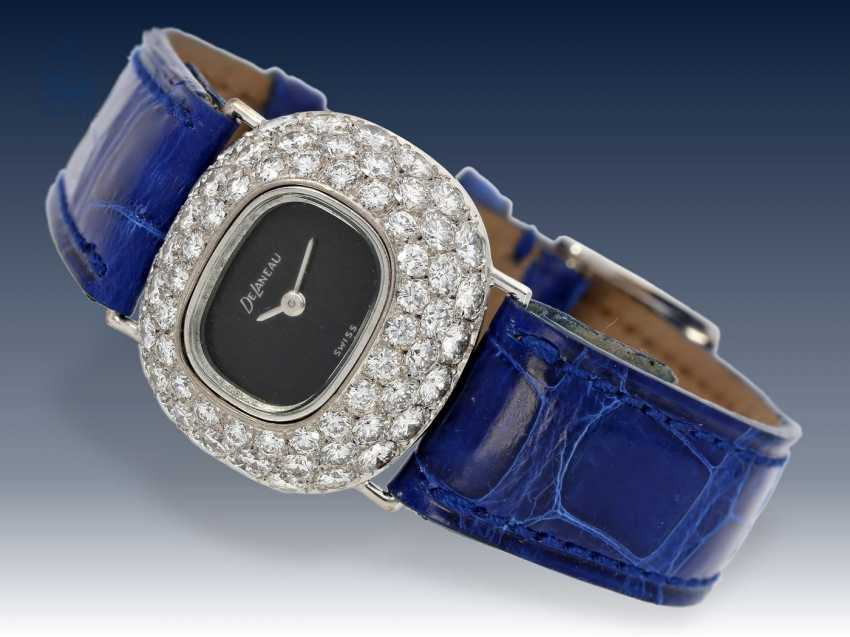 Armbanduhr: äußerst luxuriöser Damen Chronograph, Chopard