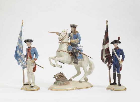 THREE SOLDIERS Nymphenburg - photo 1