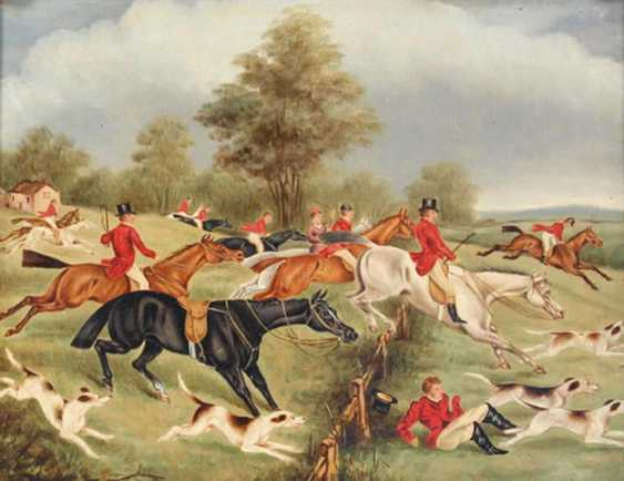English hunting painter - photo 1