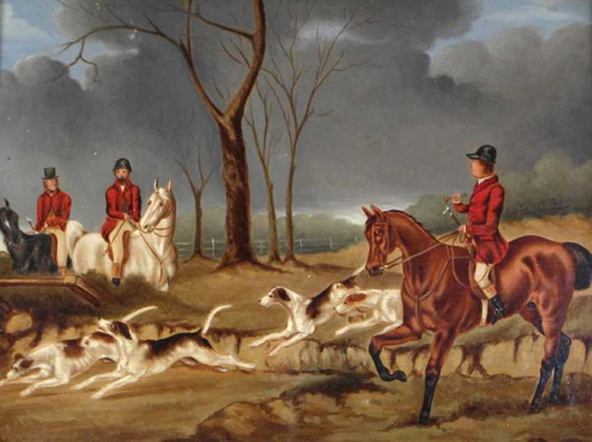 English hunting painter - photo 2