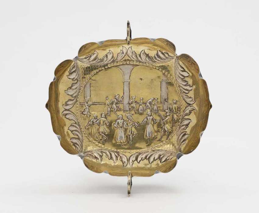 Large fruit bowl Augsburg, around 1690, Johannes Kilian - photo 1