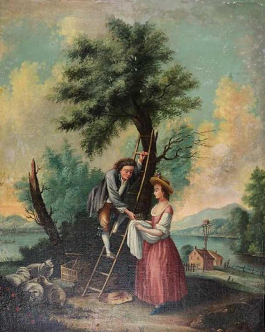 Cherry picking couple - photo 1