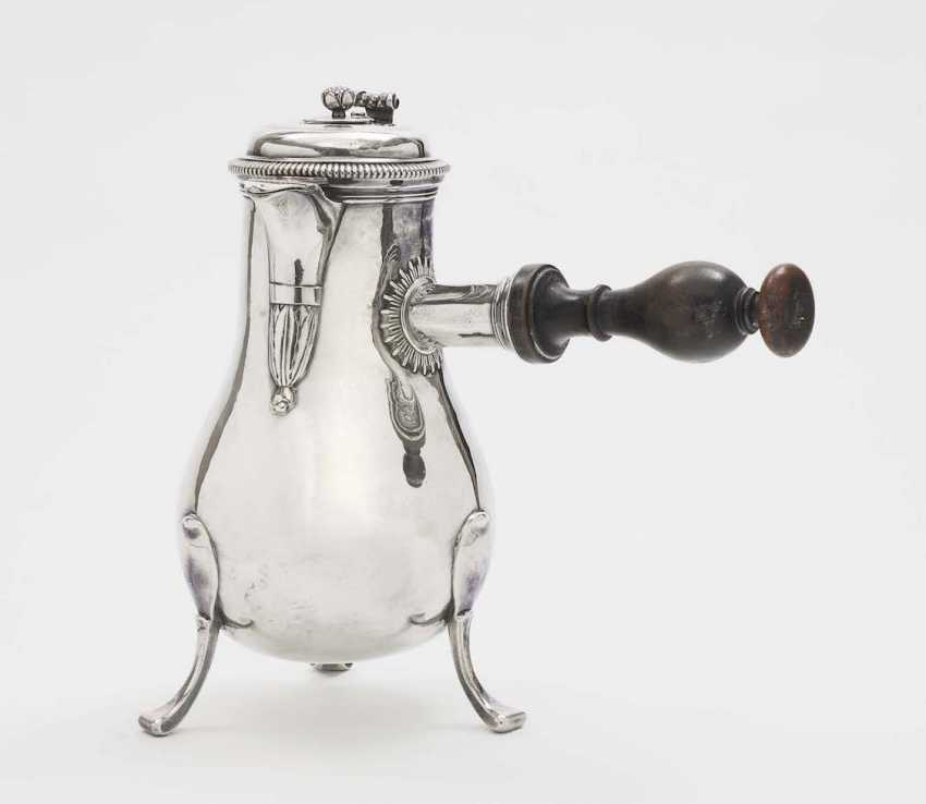 Chocolate pot, Paris, 1726 - 1732, Later, Jacques Cattin and Louis Gervais, master Jean On - photo 1