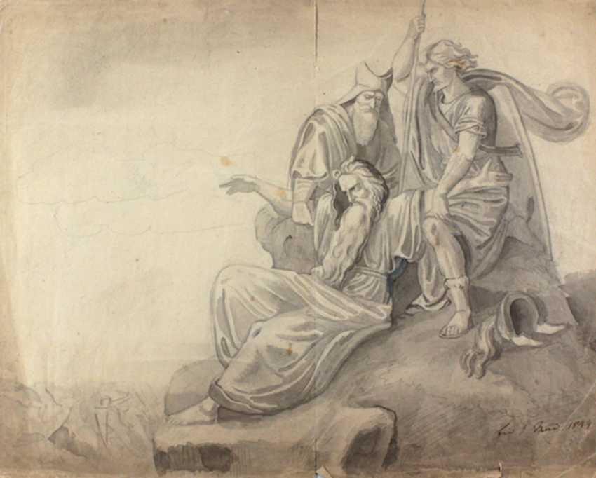 Mythological scene - photo 1