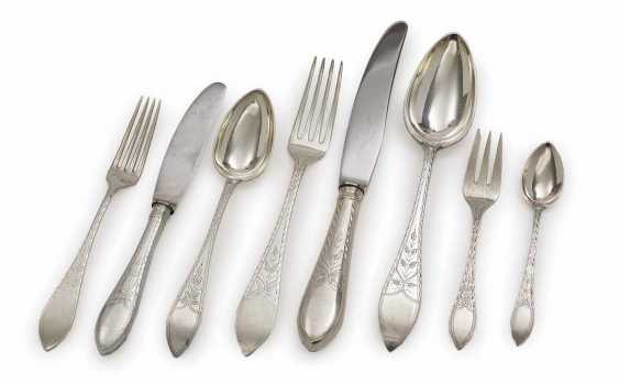 CUTLERY, 146 PARTS of Copenhagen, CA. 1901-1932, including C. M. Cohr, and Christian F. Heise, and J. SiGelbgoldaard - photo 1