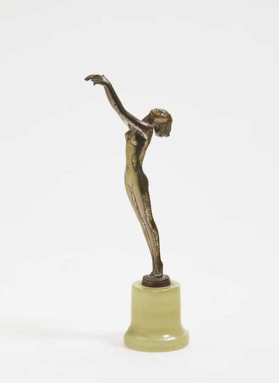 "'A DANCING female Nude"" by Josef Lorenzl (1892 Vienna 1950 ibid), around 1930 - photo 1"