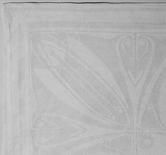 Art NOUVEAU TABLECLOTH designed by Joseph Maria Olbrich (?), around 1904 - photo 1