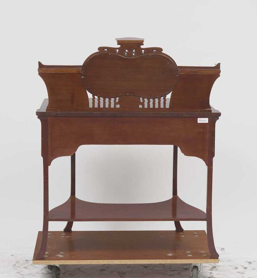 Art NOUVEAU DESK (TO the PREVIOUS NUMBERS MATCHING), Switzerland (?), around 1900 - photo 2
