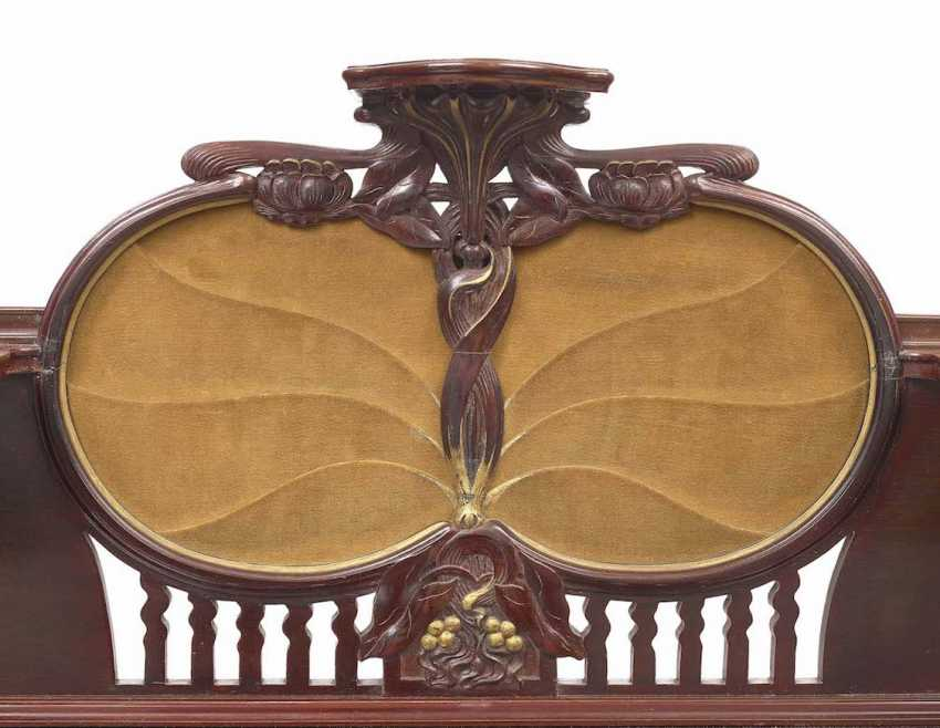 Art NOUVEAU DESK (TO the PREVIOUS NUMBERS MATCHING), Switzerland (?), around 1900 - photo 3