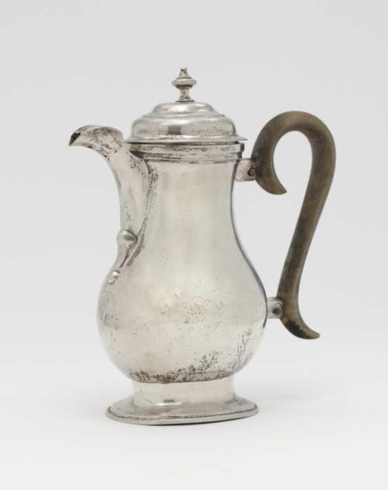 Coffee pot. Pressburg, 1763 (?), Daniel Faber - photo 1