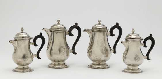 Four mocha pots. Milan, late 18th century, workshop of Contardo Buccellati and others - photo 1