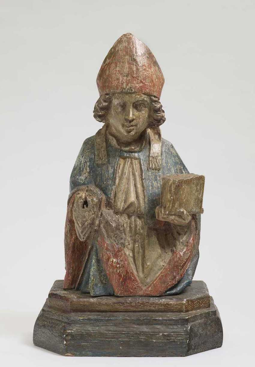 HL. BISHOP of South Germany, at the end of 15. Century - photo 1