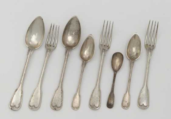15 pieces of cutlery. Late 19th century / early 20th century - photo 1
