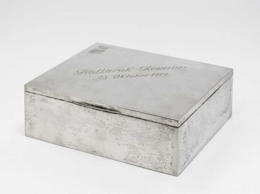 Cigar box. Heilbronn, dated 1912, Bruckmann & Sons - photo 1