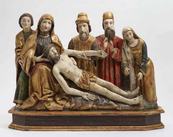 LAMENTATION over the dead CHRIST Scandinavia (Sweden?), 1500 - photo 1