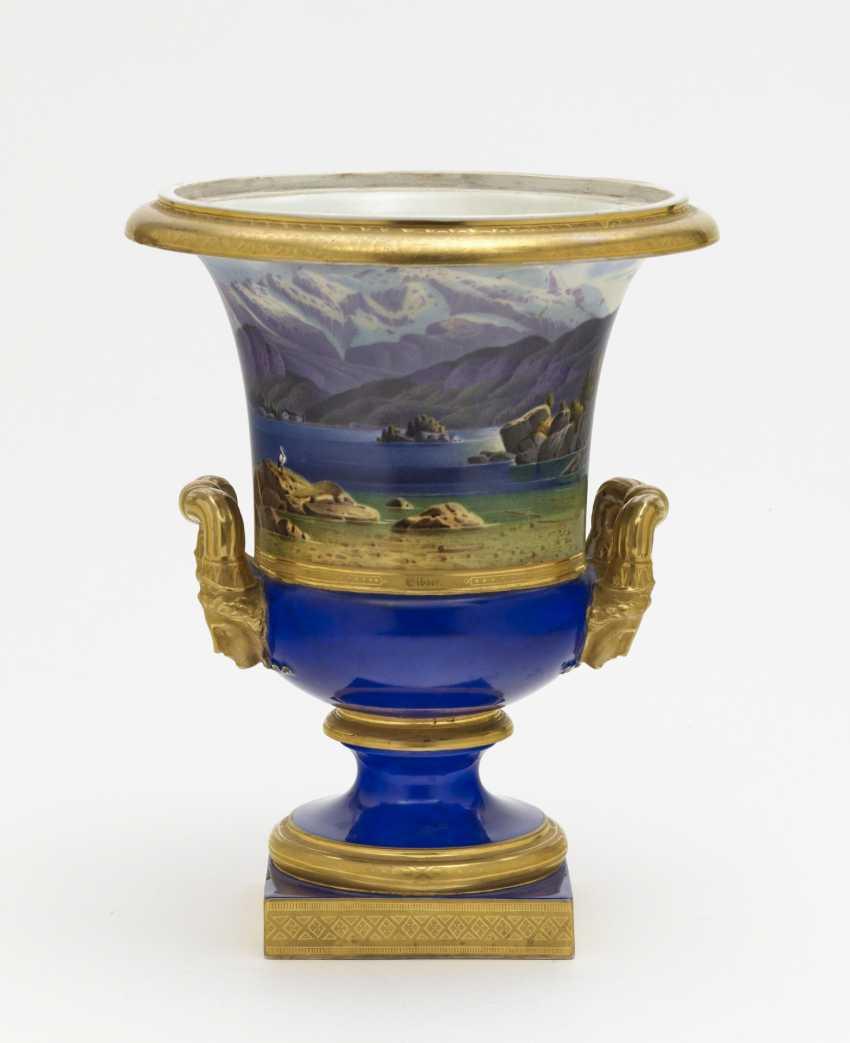 Crater vase. Nymphenburg, around 1830/1840, model by Friedrich von Gärtner - photo 2