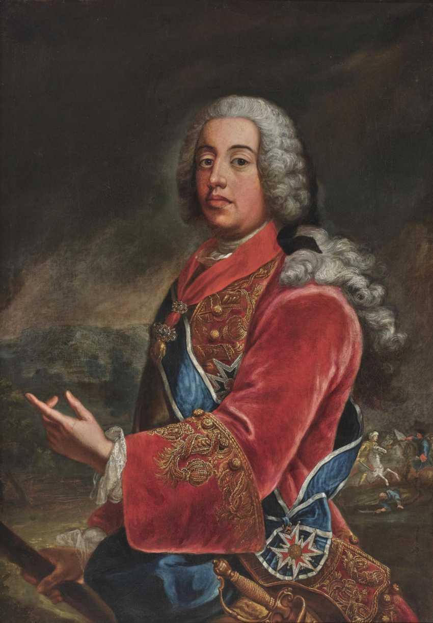 Duke Ferdinand Maria Innocent of Bavaria (1699 Brussels - 1738 Munich). 1697 Gimo (Sweden) - 1776 Munich. Georges Desmarées, workshop - photo 1